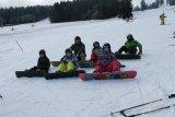 Lyžařský a snowboardový kurz Snowboardisti