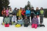 Lyžařský a snowboardový kurz děti