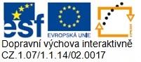 Logo Dopravní výchova interaktivně